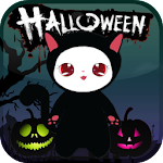 Lily Kitty Halloween Live WP 1.0.5 Apk
