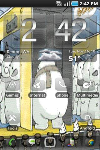 IcecreamFactory Live Wallpaper