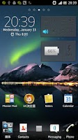 Screenshot of 3D Aurora HD live wallpaper