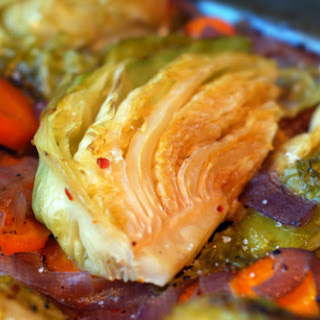 World's Best Braised Green Cabbage