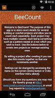 Screenshot of BeeCount Knitting Counter