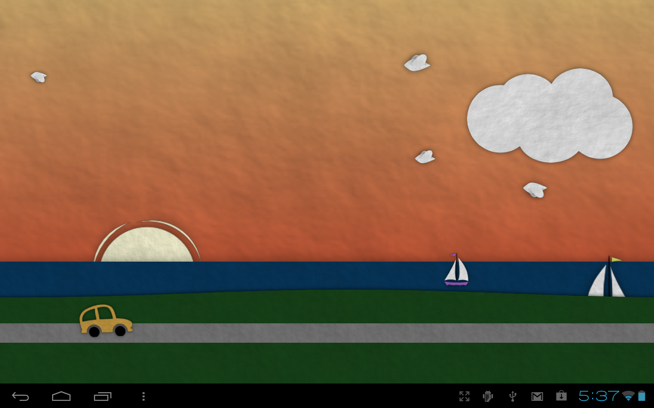 Paperland Pro Live Wallpaper Screenshot 15