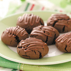 Frosted Cocoa Cookies
