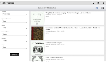 Screenshot of Gallica