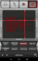 Screenshot of RoboVox Voice Changer Pro