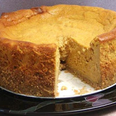 Pumpkin-Amaretto Cheesecake