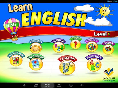Learn English-Level1 (AD-free) - screenshot