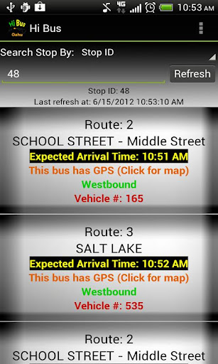 HI Bus - Oahu