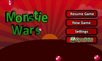 Screenshot of Monstie Wars