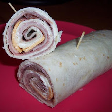 Ham, Swiss, Roast Beef and Cheese Wrap