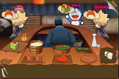 【免費街機App】疯狂寿司店2-APP點子