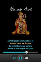 Screenshot of Hanuman Aarti - Audio & Lyrics
