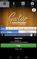 Screenshot of Guitar Jam Tracks: Free