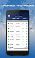 Screenshot of Stock Exchange Finance