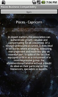 Pisces Business Compatibility - screenshot