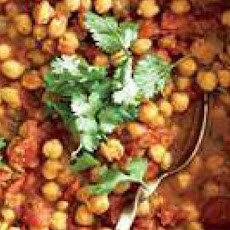 Indian Chana Masala with Roti