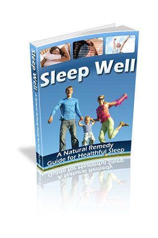 Sleep Well - Natural Remedy