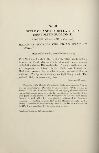 """The description page for the high-relief from the Rita Lydig auction <a href=""""http://nyarc.org/digital_projects/gilded_age/31072002485789.pdf#view=Fit"""">  catalogue</a>. The provenance information is clearly stated in the last paragraph and sentence."""