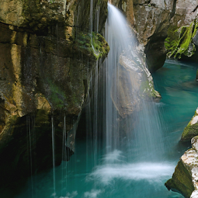 Soča by Blaz Crepinsek - Landscapes Waterscapes (  )