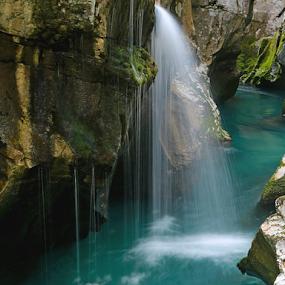 Soča by Blaz Crepinsek - Landscapes Waterscapes (  )