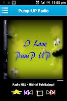 Screenshot of PumpUP
