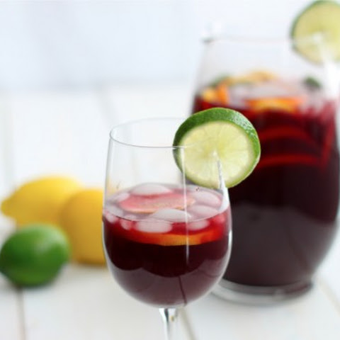 how to make sangria with red wine and lemonade