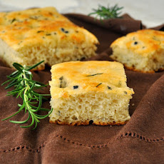 Homemade Rosemary Focaccia Bread