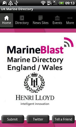 Marine Blast - England Wales