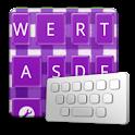 GinghamCheckPurple keyboard sk icon