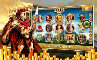 Screenshot of Zeus Free Slot Machine Pokies