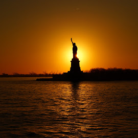 Liberty Sunset by John Crowley - Novices Only Street & Candid