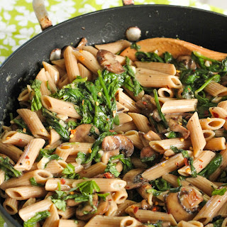 Healthy Mushroom Spinach Pasta Recipes