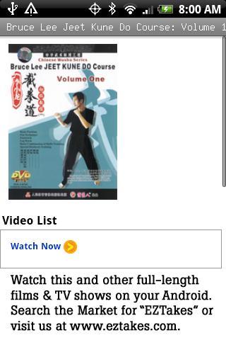Bruce Lee Jeet Kune Do: Vol 1
