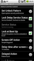 Screenshot of Lock Delay