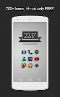 Screenshot of Silhouette - Icon Pack