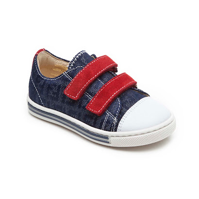 Fendi Denim Velcro Trainers TODDLER VELCRO