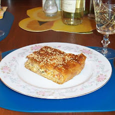 Melitzanopita (Greek Pie Using Eggplant (Aubergine) )