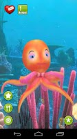 Screenshot of Talking Oceana Octopus