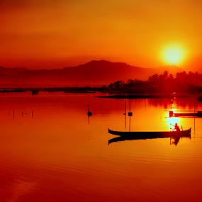 Elegi Buat Alam by Irwan Karim - Landscapes Sunsets & Sunrises ( , color, colors, landscape, portrait, object, filter forge )