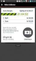Screenshot of Skyss Billett