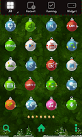 Screenshot of Christmas deco dodol theme