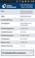 Screenshot of FondsOnline