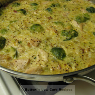 Chicken Brussels Sprouts Casserole