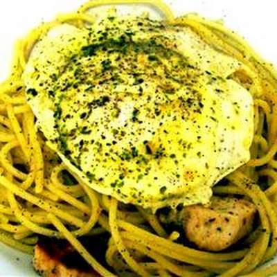 Eggs and Spaghetti
