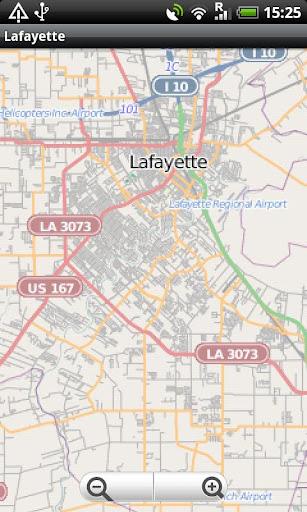 Lafayette Street Map