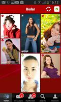 Screenshot of lesarion - lesbian community