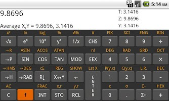 Screenshot of RpnCalc - Rpn Calculator