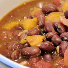 Boston Black Bean Chili