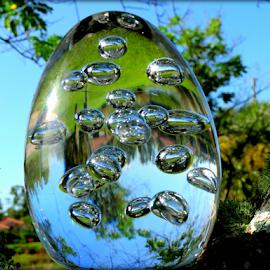 Bubbles... by Elfie Back - Artistic Objects Glass