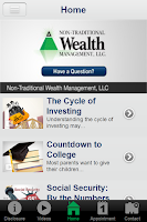 Screenshot of Non Traditional Wealth Mgmt